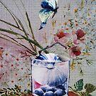 Blue butterfly by kseniako