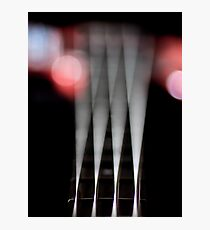 Funky Vibrating Strings... Photographic Print