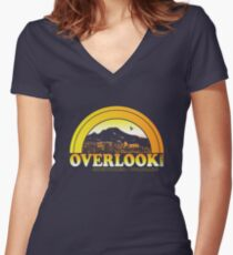 Overlook Hotel Women's Fitted V-Neck T-Shirt