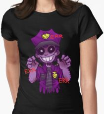 The Purple Man Womens Fitted T-Shirt