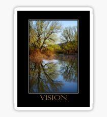 Vision Inspirational Art Sticker