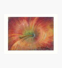 Abstract Apple Art Print
