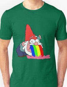 Gnome puking happiness - Gravity Falls Unisex T-Shirt