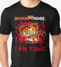 RogueTiger.com - Smirk Logo Red (dark) T-Shirt