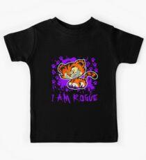 RogueTiger.com - Smirk Purple (dark) Kids Clothes