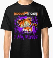 RogueTiger.com - Smirk Logo Purple (dark) Classic T-Shirt