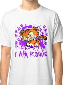 RogueTiger.com - Smirk Purple (light) Classic T-Shirt