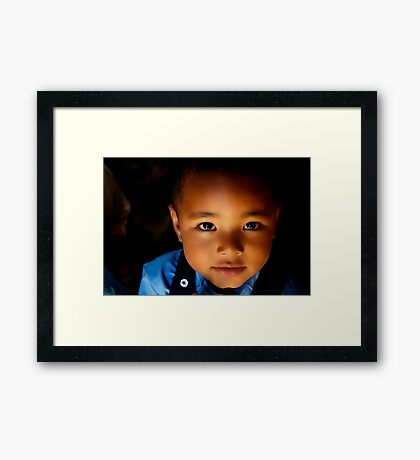 Sweet Baabu Framed Print