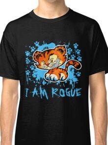RogueTiger.com - Smirk Light Blue (dark) Classic T-Shirt