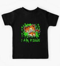 RogueTiger.com - Smirk Green (dark) Kids Clothes
