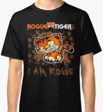 RogueTiger.com - Smirk Logo Brown (dark) Classic T-Shirt
