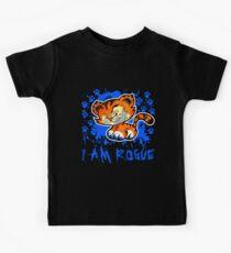 RogueTiger.com - Smirk Blue (dark) Kids Clothes