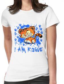 RogueTiger.com - Smirk Blue (light) Womens Fitted T-Shirt