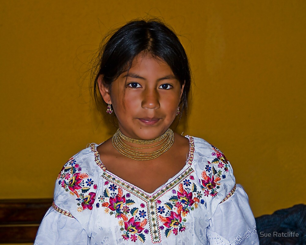 Faces of Ecuador 2  by Sue Ratcliffe