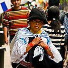 Faces of Ecuador 5 by Sue Ratcliffe