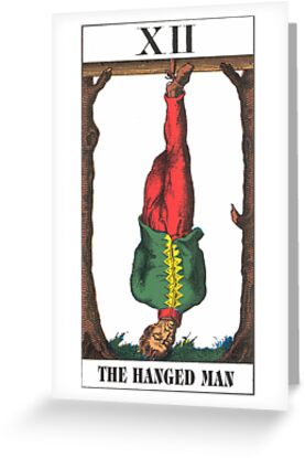 Hanged Man Tarot by babydollchic