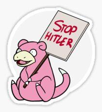 Slowpoke Protest Sticker