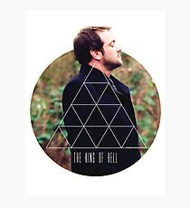 Hipster Crowley Photographic Print