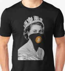 Queen Bitcoin Bandit Geek T-Shirt