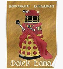 Dalek Lama Poster