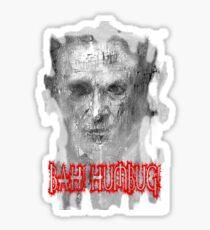 Bah! Humbug! - Ebenezer Scrooge Sticker