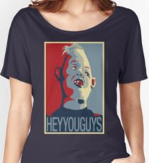 "Sloth from The Goonies - ""Hey You Guys"" Women's Relaxed Fit T-Shirt"