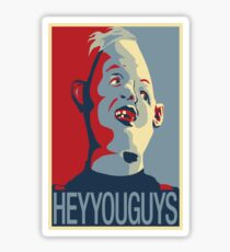 """Sloth from The Goonies - """"Hey You Guys"""" Sticker"""