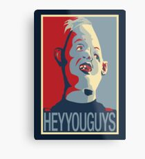 "Sloth from The Goonies - ""Hey You Guys"" Metal Print"