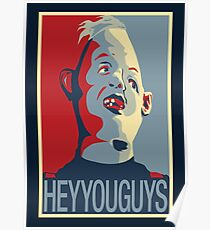 "Sloth from The Goonies - ""Hey You Guys"" Poster"