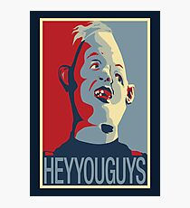 "Sloth from The Goonies - ""Hey You Guys"" Photographic Print"