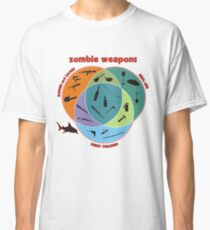 Zombie weapons Classic T-Shirt