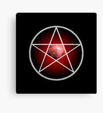 Jewelled Pentagram Canvas Print