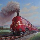 LMS  Stanier Pacific. by Mike Jeffries