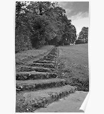 100 steps at Port Royal Abbey Poster