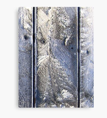 Frost Owl #01 Canvas Print