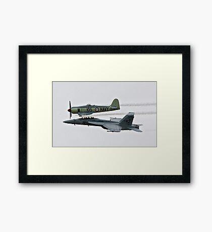 Legacy Flight Framed Print
