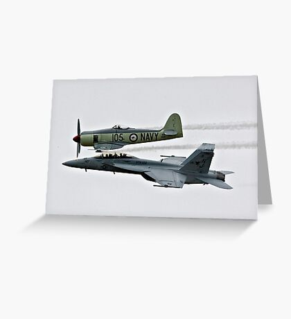 Legacy Flight Greeting Card
