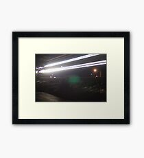 Phantom Train Framed Print