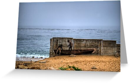 Fishermen Mural by Diego Re