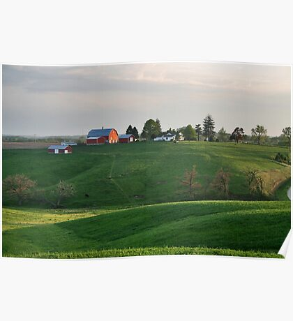 The Green Hills of Home Poster