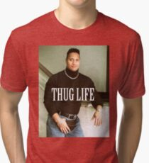 Throwback - Dwayne Johnson Tri-blend T-Shirt