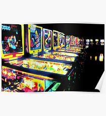 Pinball Arcade Poster