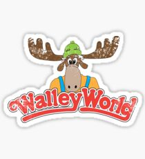 Walley World - Vintage Sticker