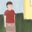 A Mistrustful Boy by Sarah Countiss