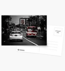 4pm Traffic  Postcards