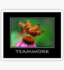 Teamwork Inspirational Art Sticker