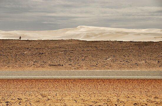 Inland Sand Dunes by AlisonOneL