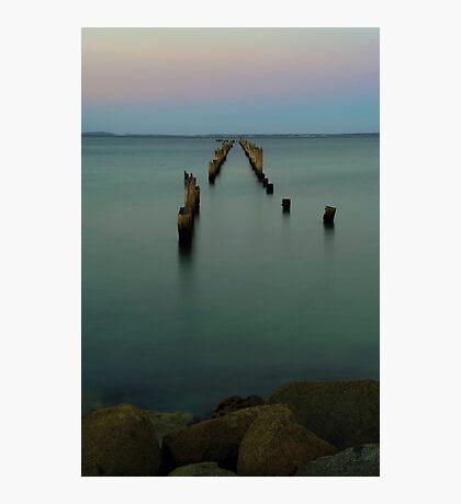 Bridport Pier, Tasmania Photographic Print