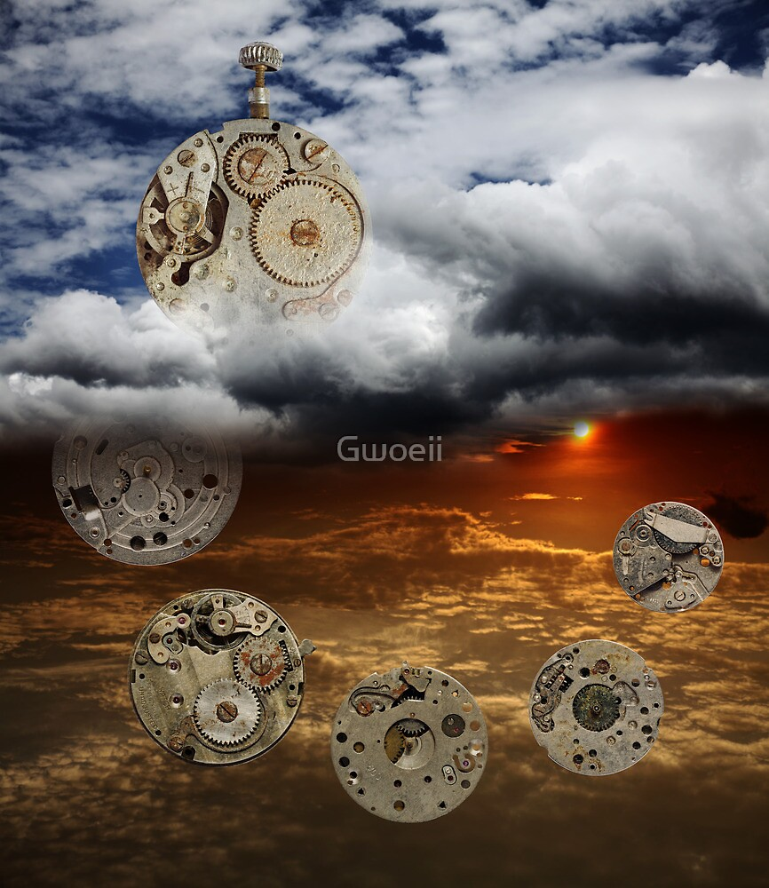 The Ageless Passage of Time by Gwoeii