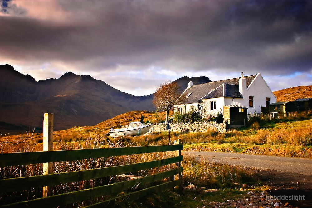 Skye Cottage by hebrideslight